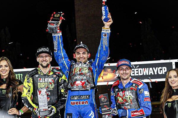 Speedway Grand Prix rider Bartosz Zmarzlik