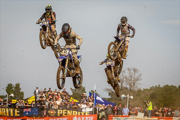 RIders at the second round of the 2021 Penrite ProMX Championship