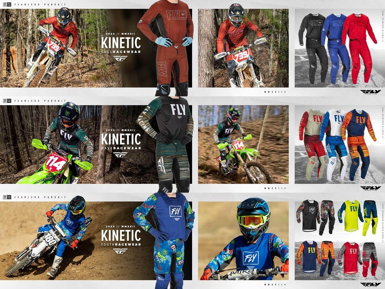 2022 Fly Racing Kinetic Racewear