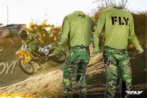 Fly Racing Limited Edition Military Racewear
