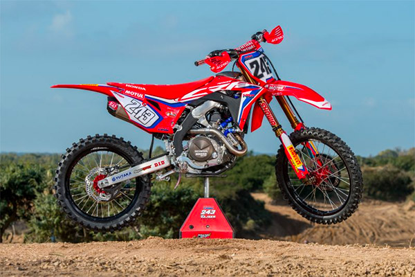 The Science of a CRF ‰ÛÒ with the HRC CRF450RW