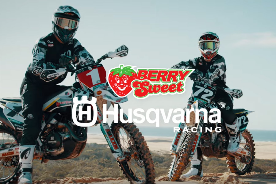 2020 Berry Sweet Husqvarna Race Team